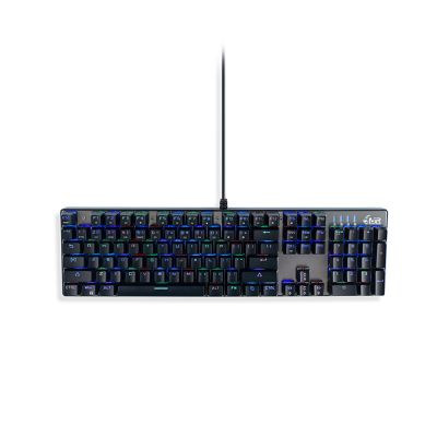 MediaRange wired mechanical Gaming keyboard with RGB-effect (MRGS101-UK-10)