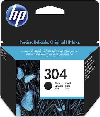 Hp N9K06AEBlack  Inkjet Cartridge (120 σελίδες) 304
