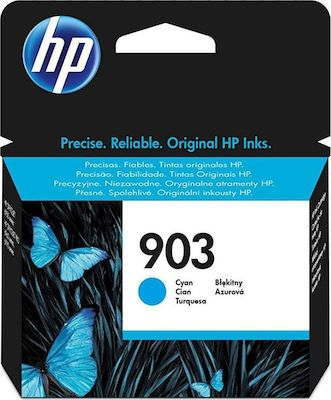 Hp T6L87AE Cyan Inkjet Cartridge (315 σελίδες) 903