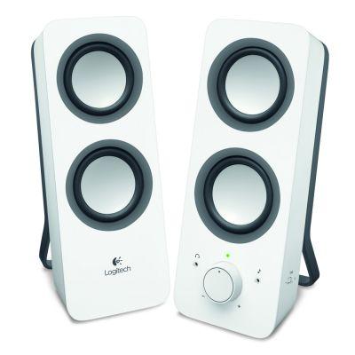 Logitech Z200 2.0 Speakers (White)