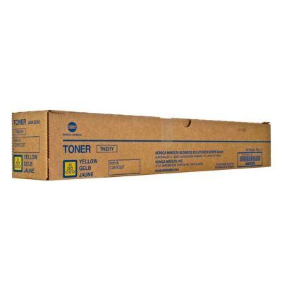 TN-221 YELLOW (A8K3250) KONICA MINOLTA BIZHUB C222/C287