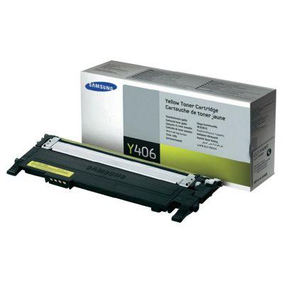 SAMSUNG CLT-Y406S/ELS Yellow Laser Toner  Y406
