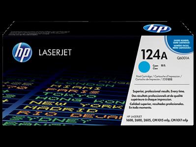 Hp Q6001A Cyan Laser Toner  124A