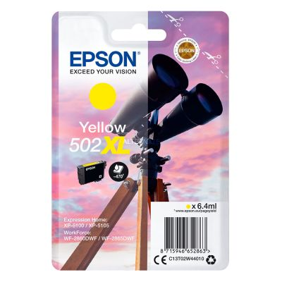 Epson C13T02W44010 Yellow Inkjet Cartridge  502XL