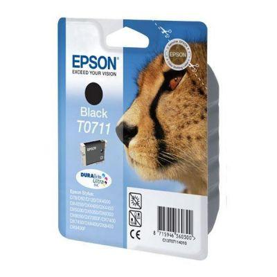 Epson C13T07114012 Black  Inkjet Cartridge  T0711
