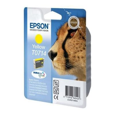 Epson C13T07144012 Yellow Inkjet Cartridge  T0714