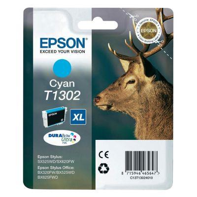 Epson C13T13024012 Cyan Inkjet Cartridge  T01302