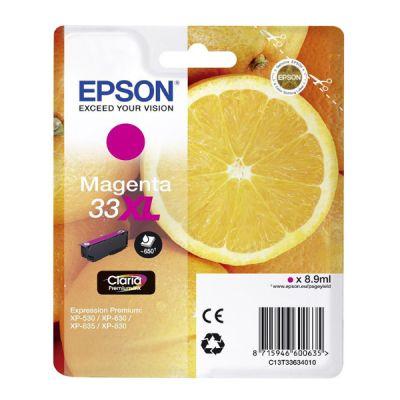 Epson C13T33634012 Magenta Inkjet Cartridge  T3363XL