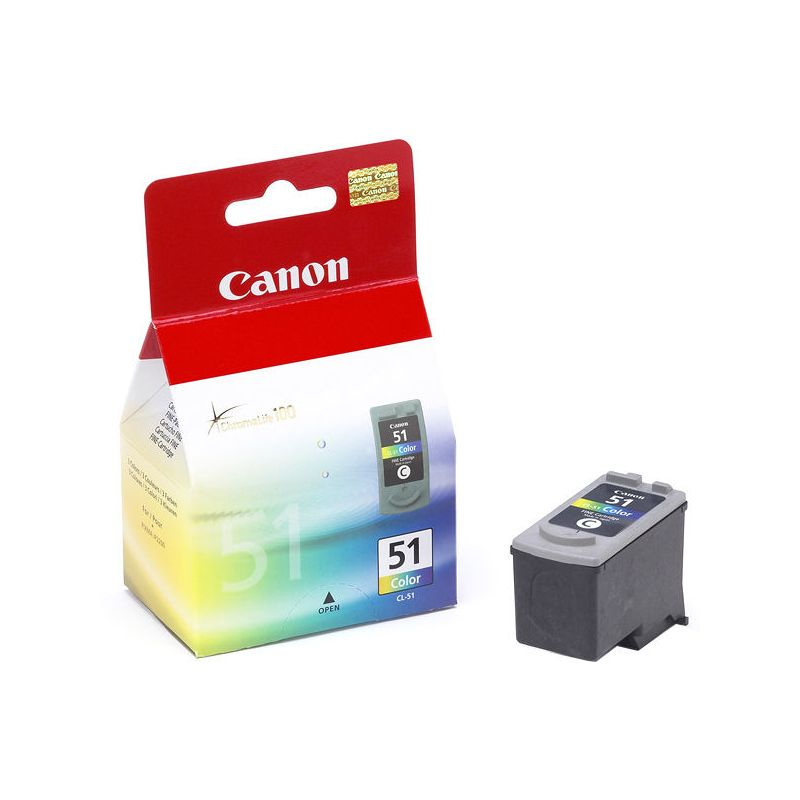 Canon 0618B001 Color Inkjet Cartridge (545 σελίδες) CL-51