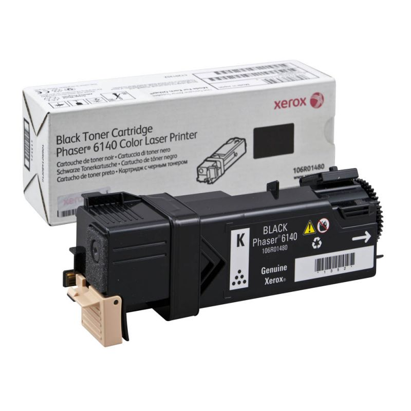 Xerox 106R01480 Black  Laser Toner (2600 σελίδες) 106R01480