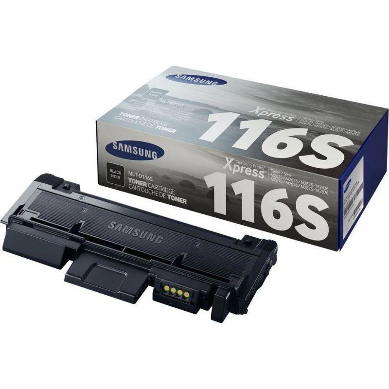 Samsung MLT-D116S/ELS Black  Laser Toner  116S