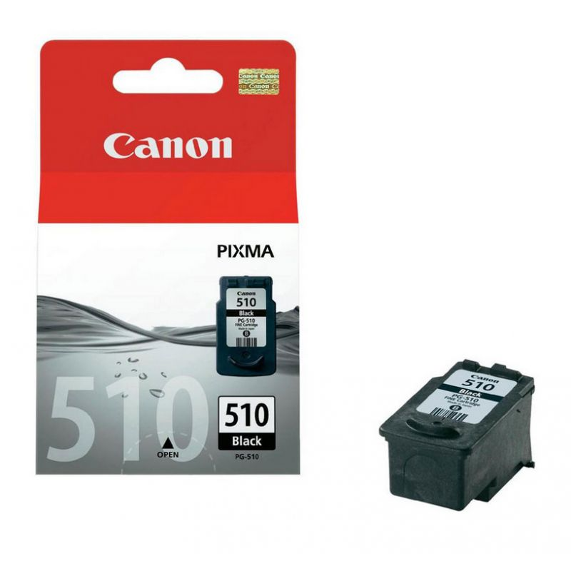 Canon 2970B001 Black  Inkjet Cartridge (220 σελίδες) PG-510