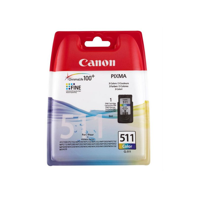 Canon 2972B001 Color Inkjet Cartridge  CL-511
