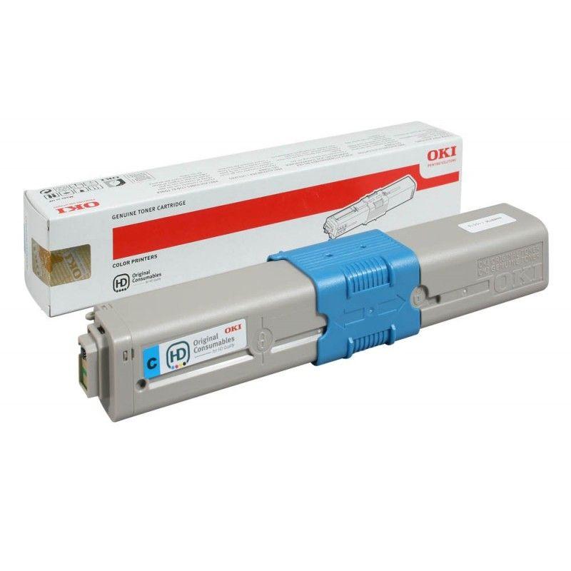 Oki 44469706 Cyan Laser Toner (2000 σελίδες) 44469706