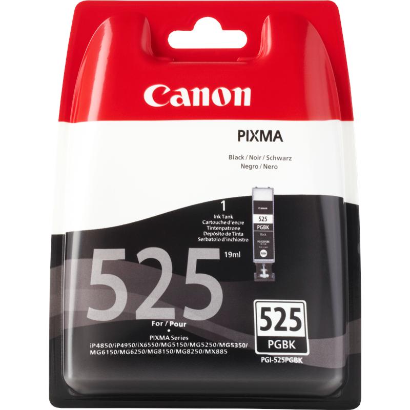Canon 4529B001 Black  Inkjet Cartridge (330 σελίδες) PGI-525