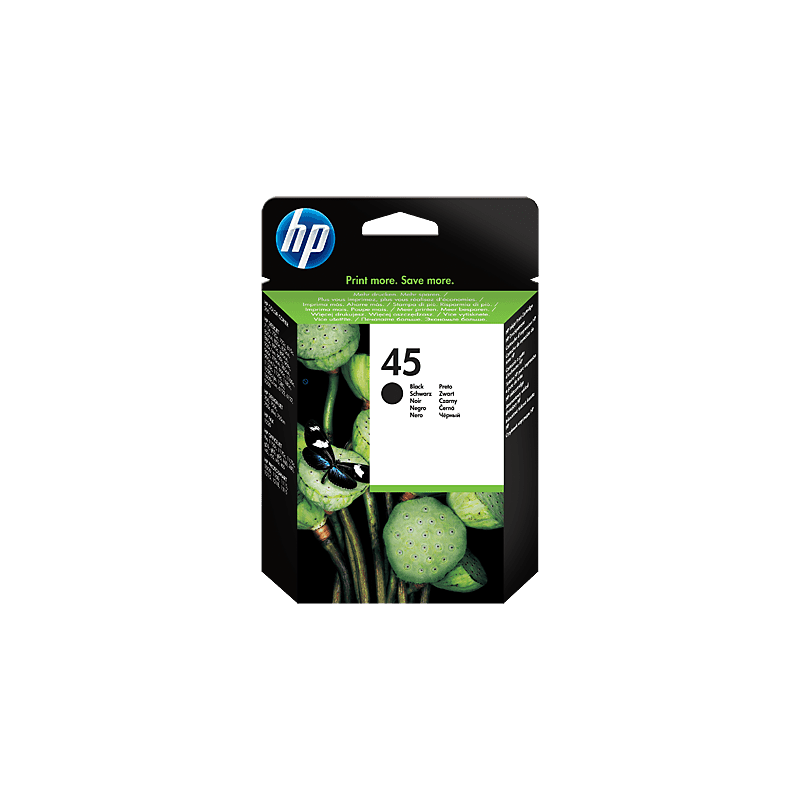 Hp 51645AE Black  Inkjet Cartridge (700 σελίδες) HP45