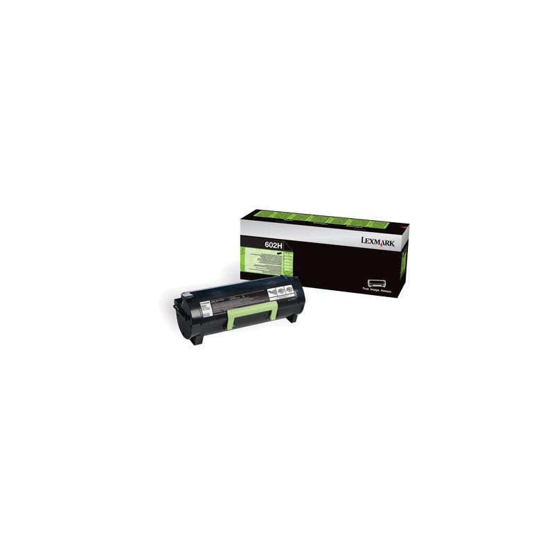 Lexmark 60F2H00 Black  Laser Toner  602H
