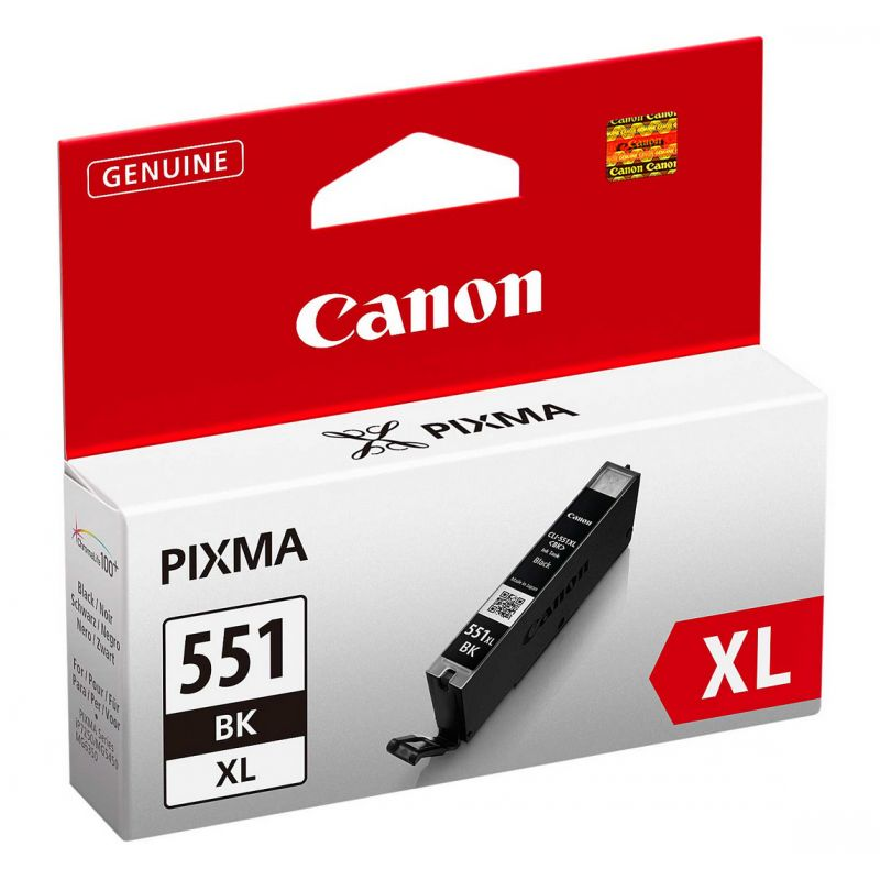 Canon 6443B001 Photo Black  Inkjet Cartridge (500 σελίδες) CLI-551XL