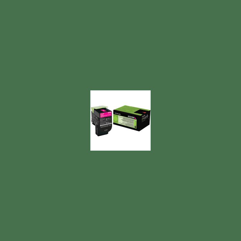 Lexmark 80C2HM0 Magenta Laser Toner  802HM