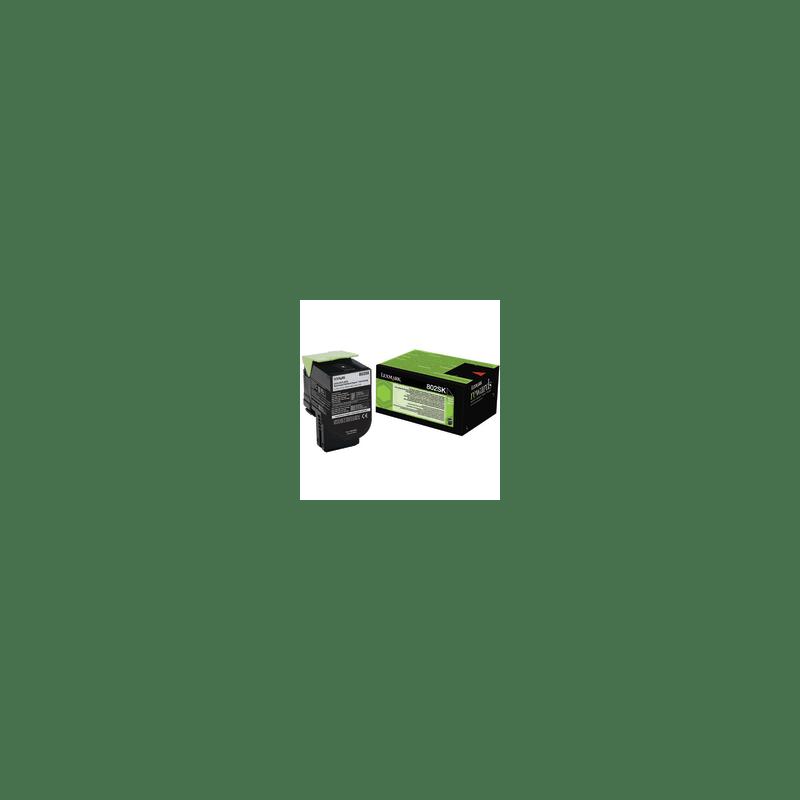 Lexmark 80C2SK0 Black  Laser Toner  802SK