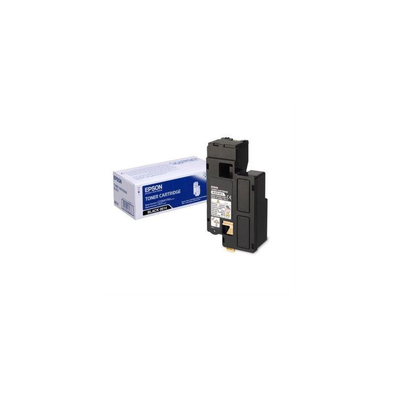 Epson C13S050614 Black  Laser Toner (2000 σελίδες) C1700BK