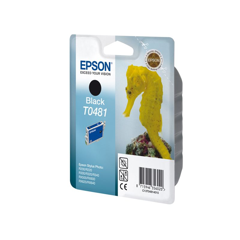 Epson C13T04814010 Black  Inkjet Cartridge (630 σελίδες) T0481