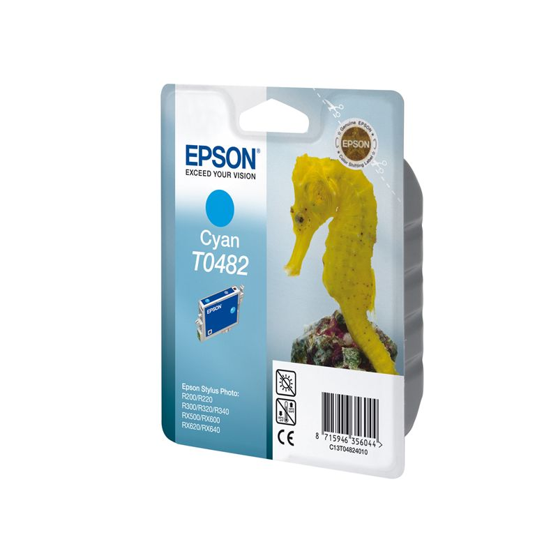 Epson C13T04824010 Cyan Inkjet Cartridge (420 σελίδες) T0482