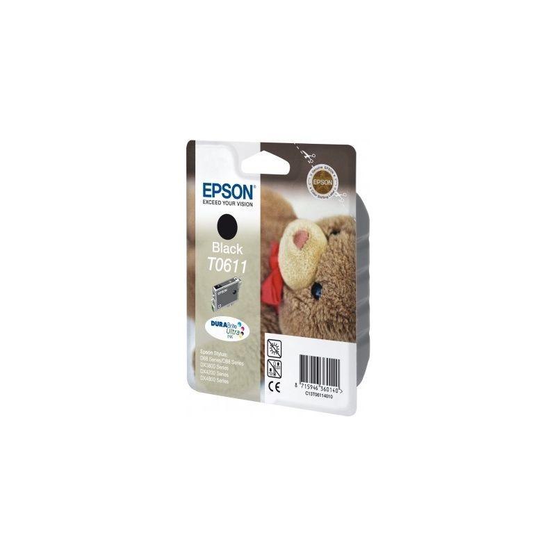 Epson C13T06114010 Black  Inkjet Cartridge  T0611