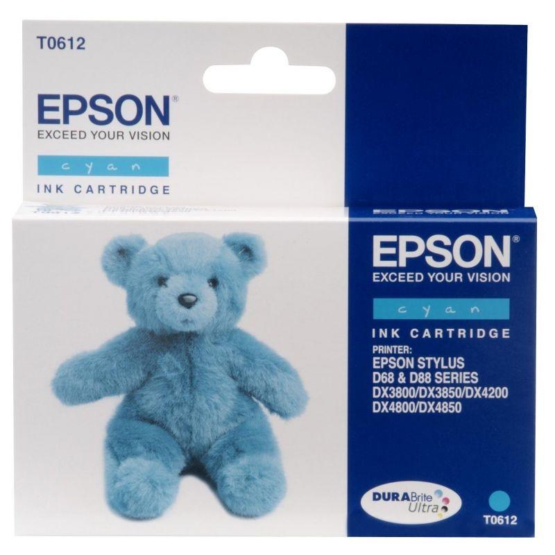 Epson C13T06124010 Cyan Inkjet Cartridge  T0612