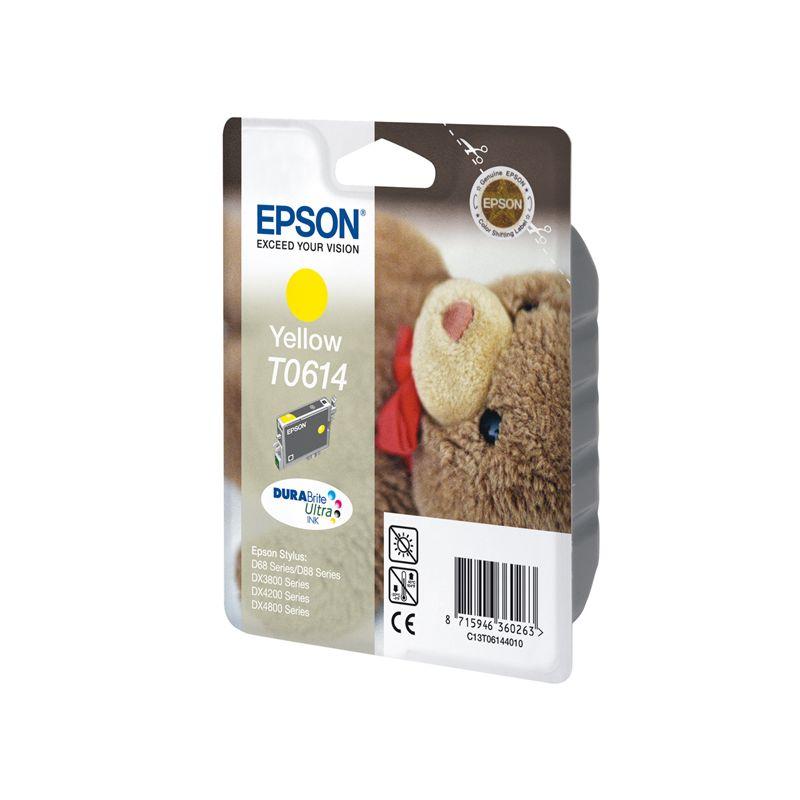 Epson C13T06144010 Yellow Inkjet Cartridge  T0614