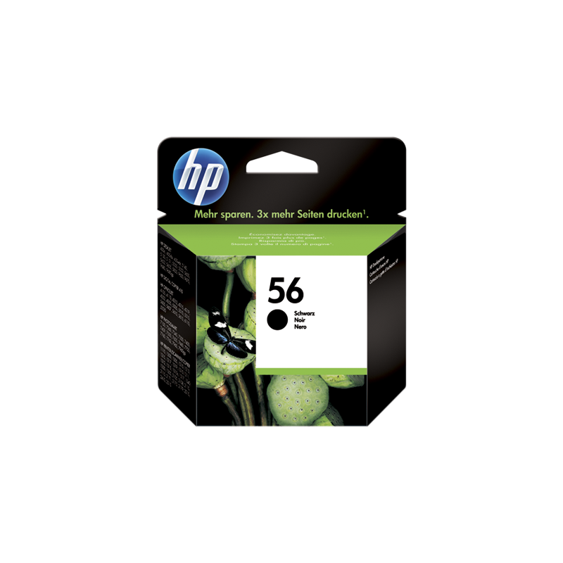 Hp C6656AE Black  Inkjet Cartridge (520 σελίδες) HP56