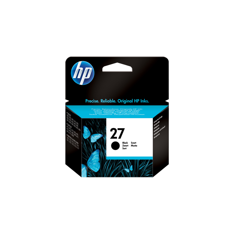 Hp C8727AE Black  Inkjet Cartridge  27