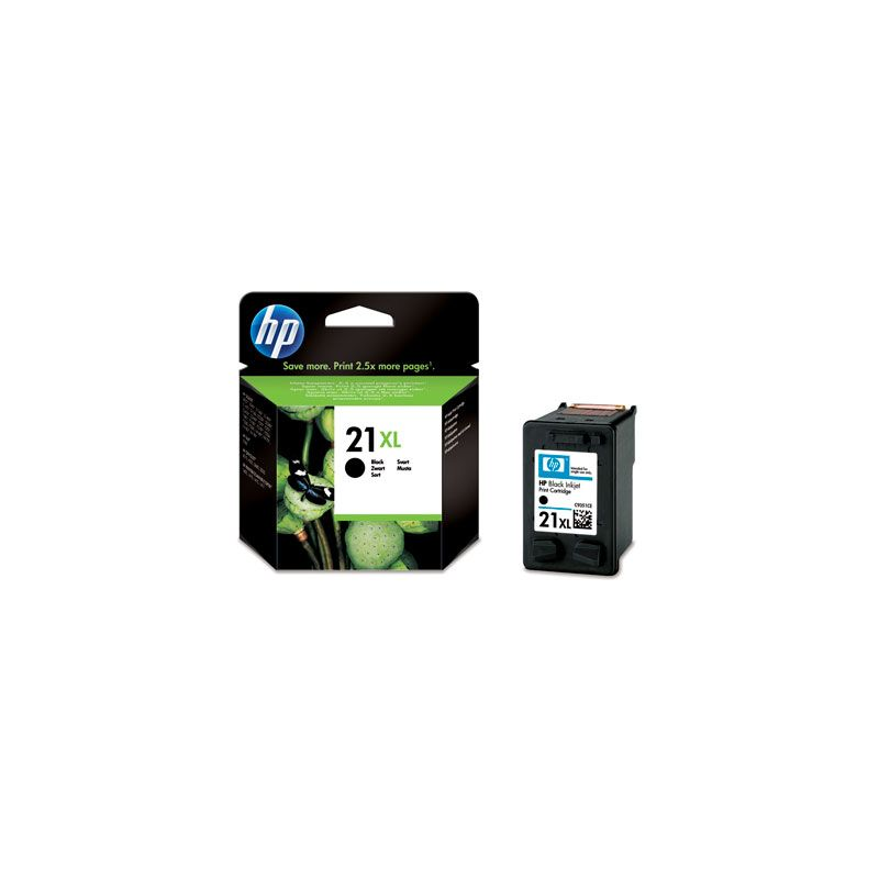 Hp C9351CE Black  Inkjet Cartridge  21XL