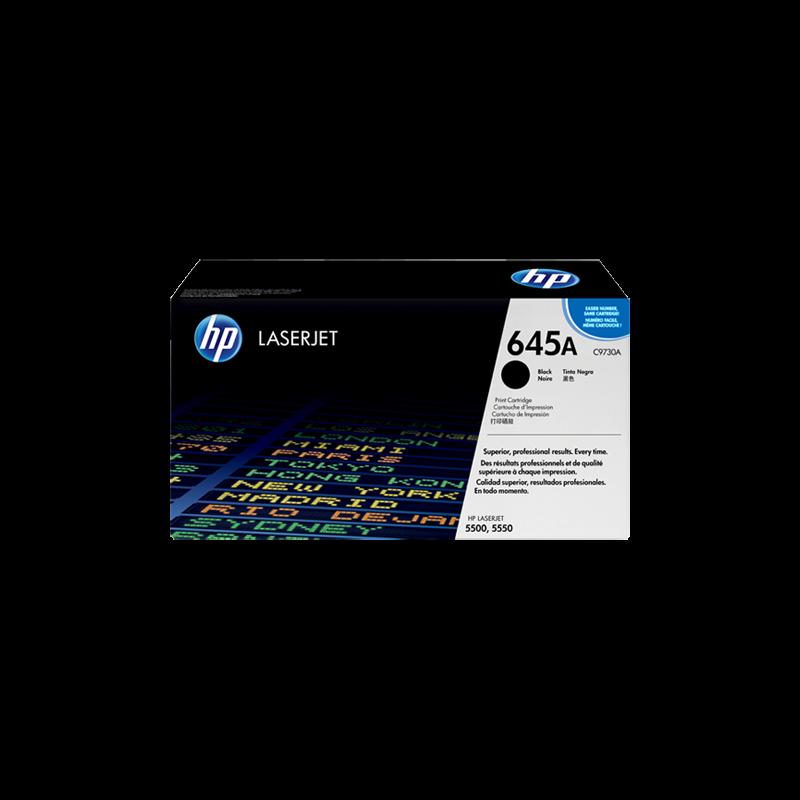 Hp C9730A Black  Laser Toner  645A