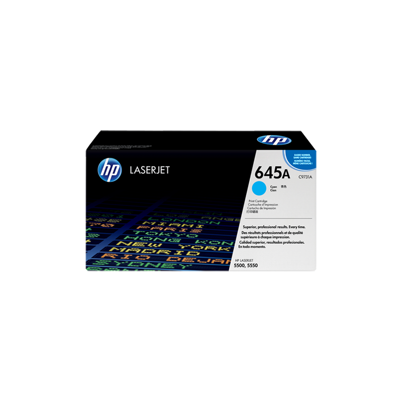 Hp C9731A Cyan Laser Toner  645A