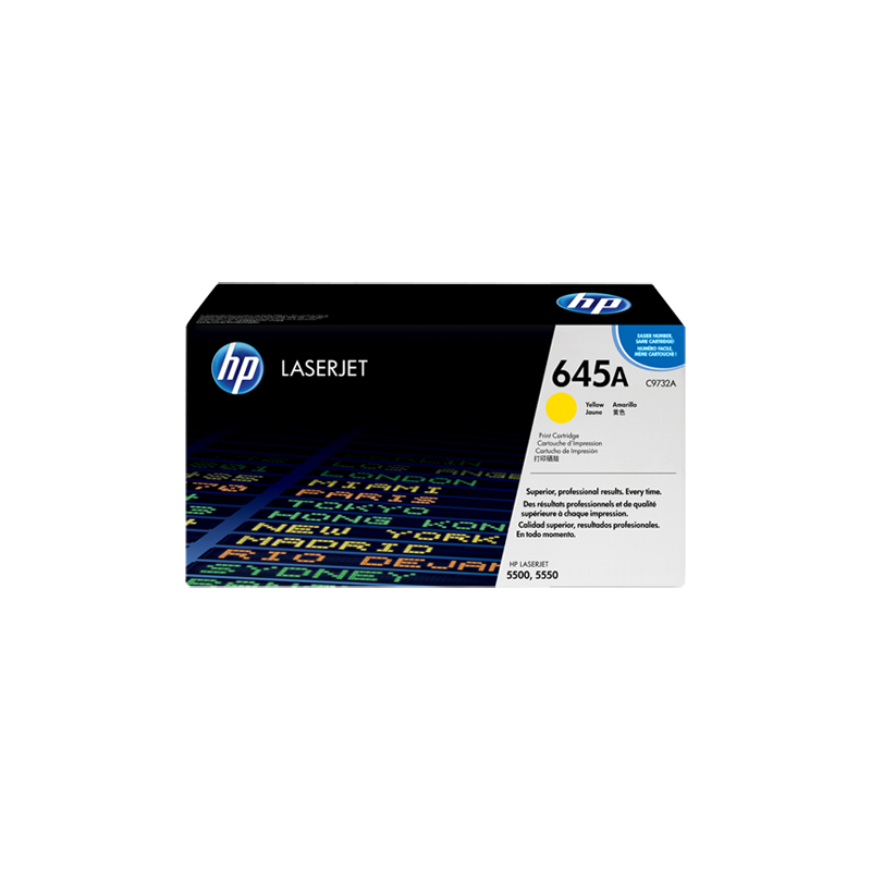 Hp C9732A Yellow Laser Toner  645A