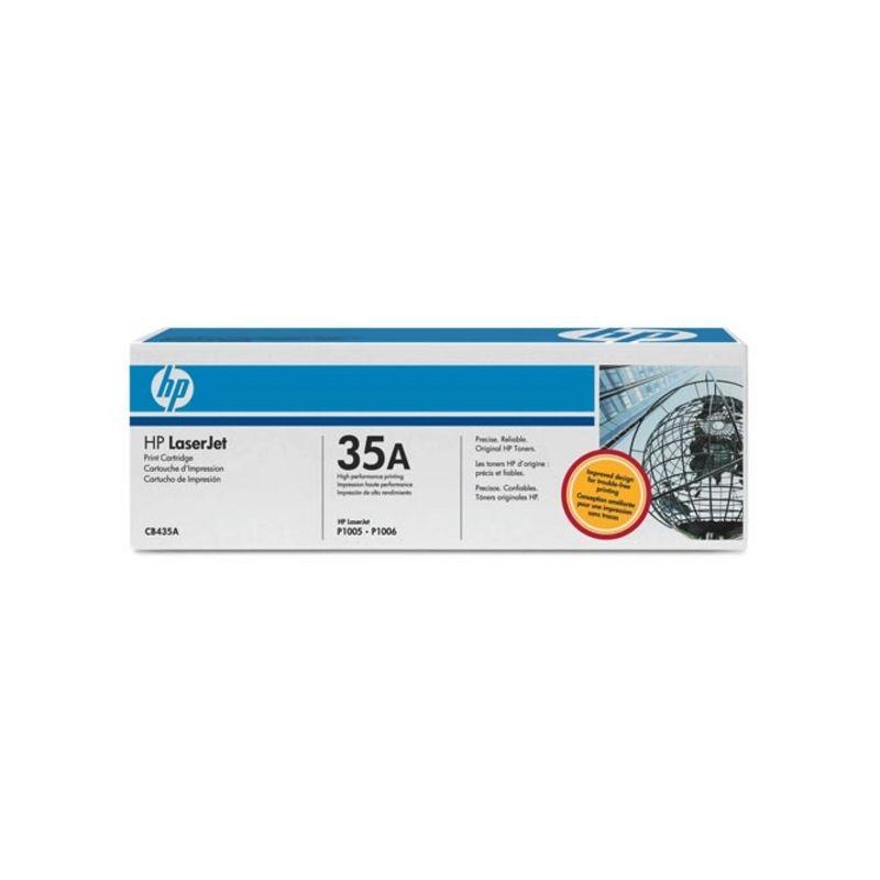Hp CB435A Black  Laser Toner  35A