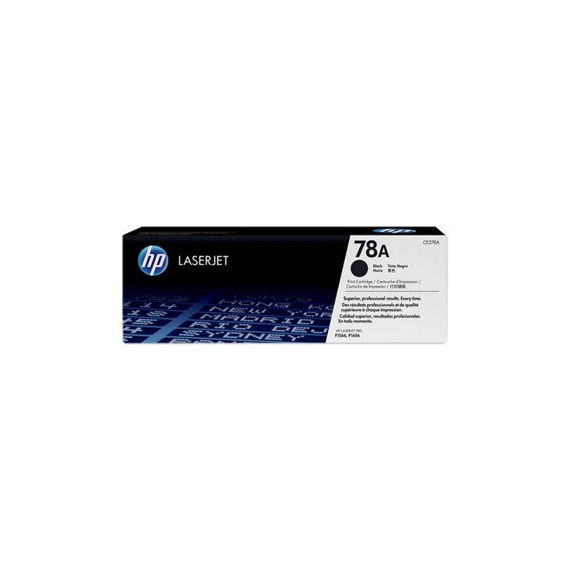 Hp CE278A Black  Laser Toner (2000 σελίδες) 78A