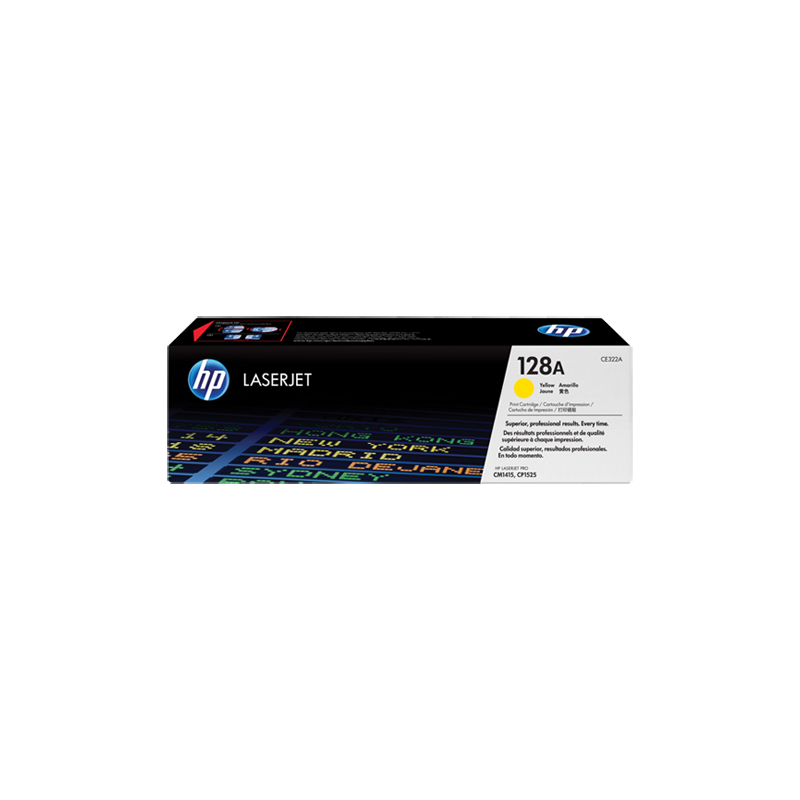 Hp CE322A Yellow Laser Toner  128A