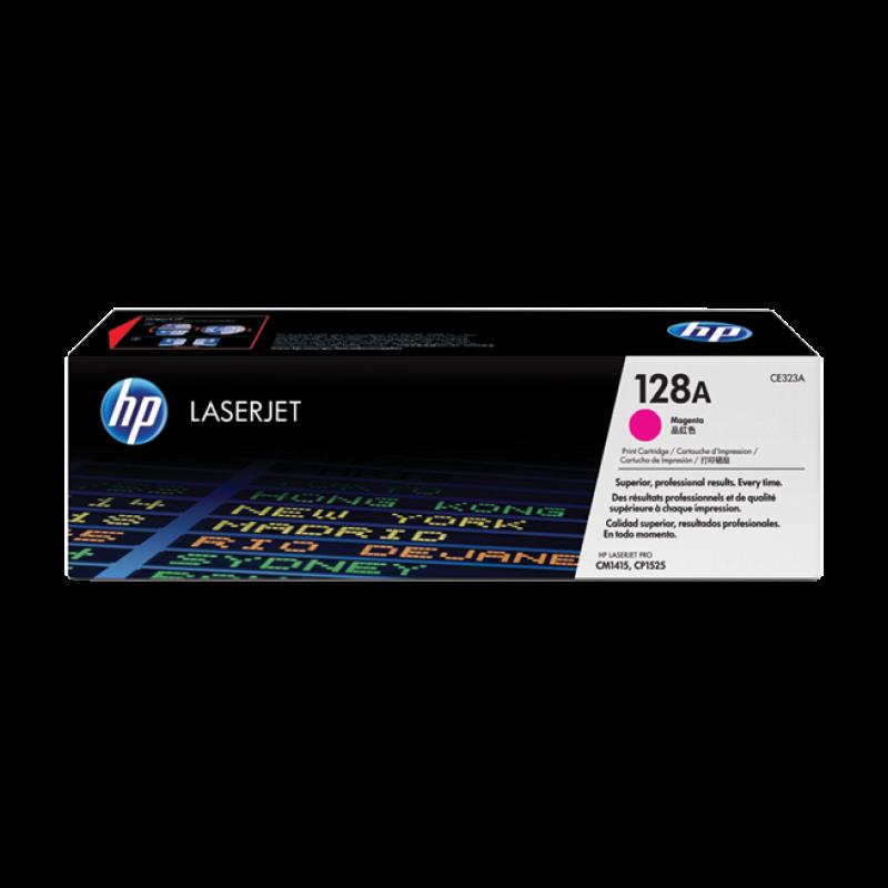 Hp CE323A Magenta Laser Toner  128A
