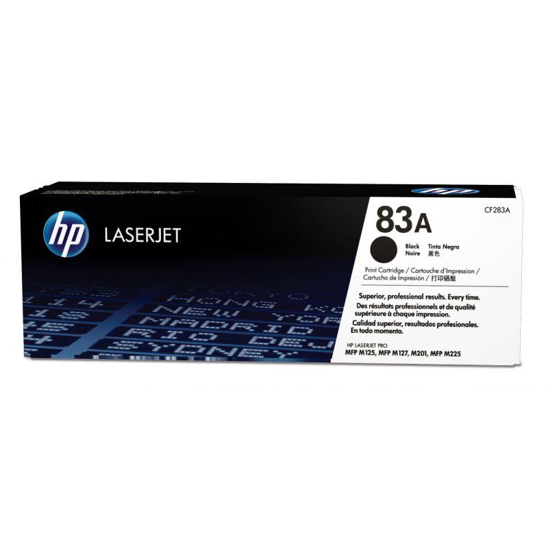 Hp CF283A Black  Laser Toner  83A