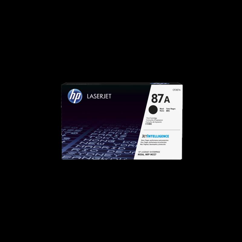 Hp CF287A Black  Laser Toner (9000 σελίδες) 287A