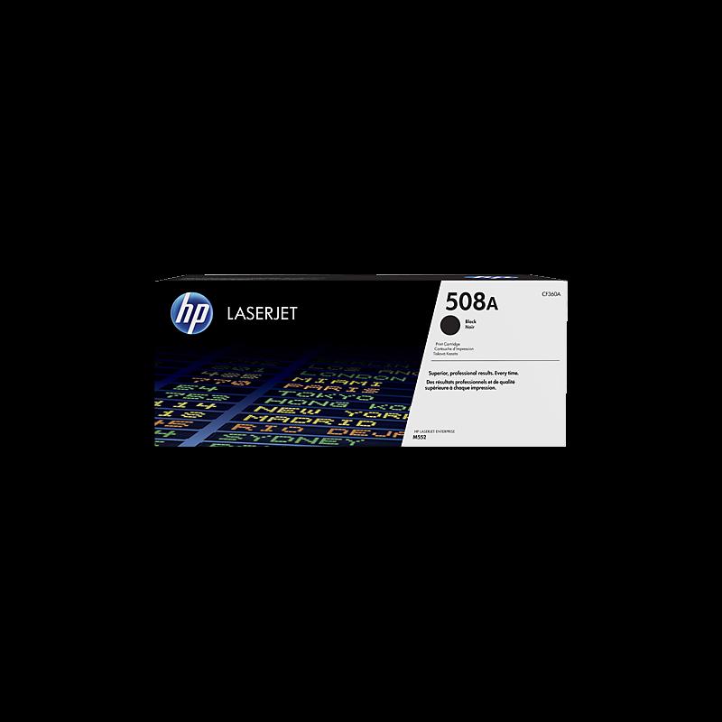 Hp CF360A Black  Laser Toner  508A