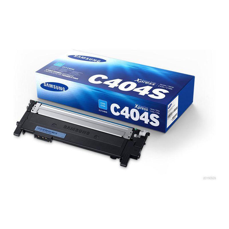 SAMSUNG CLT-C404S/ELS Cyan Laser Toner  C404