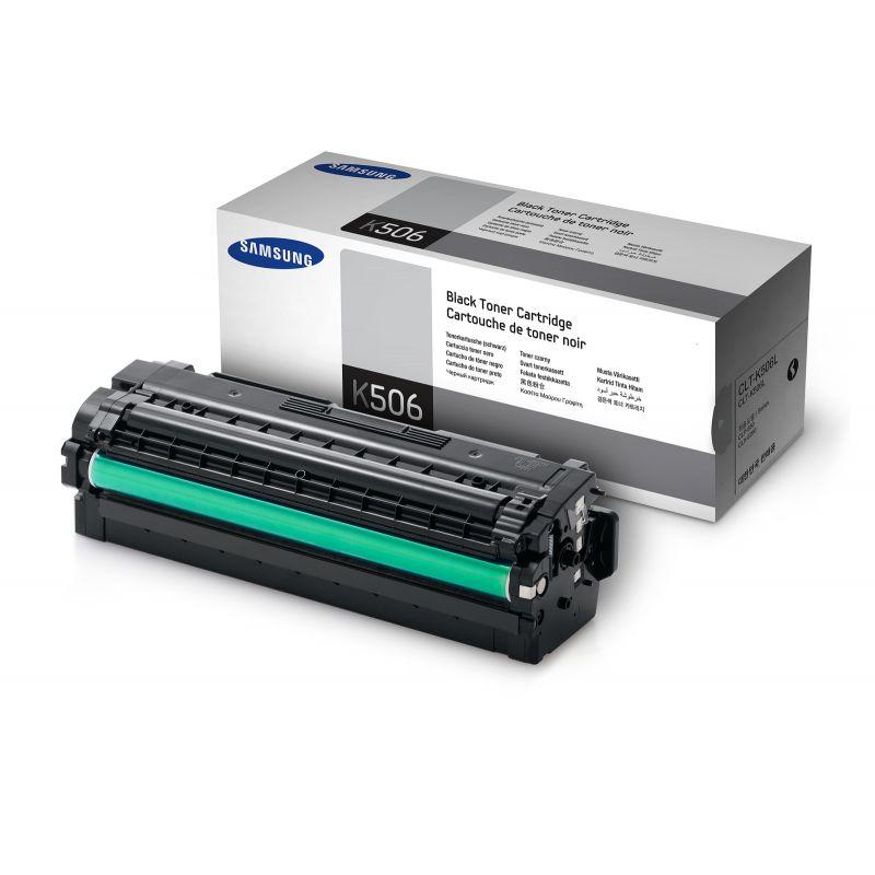 SAMSUNG CLT-K506L/ELS Black  Laser Toner  K506