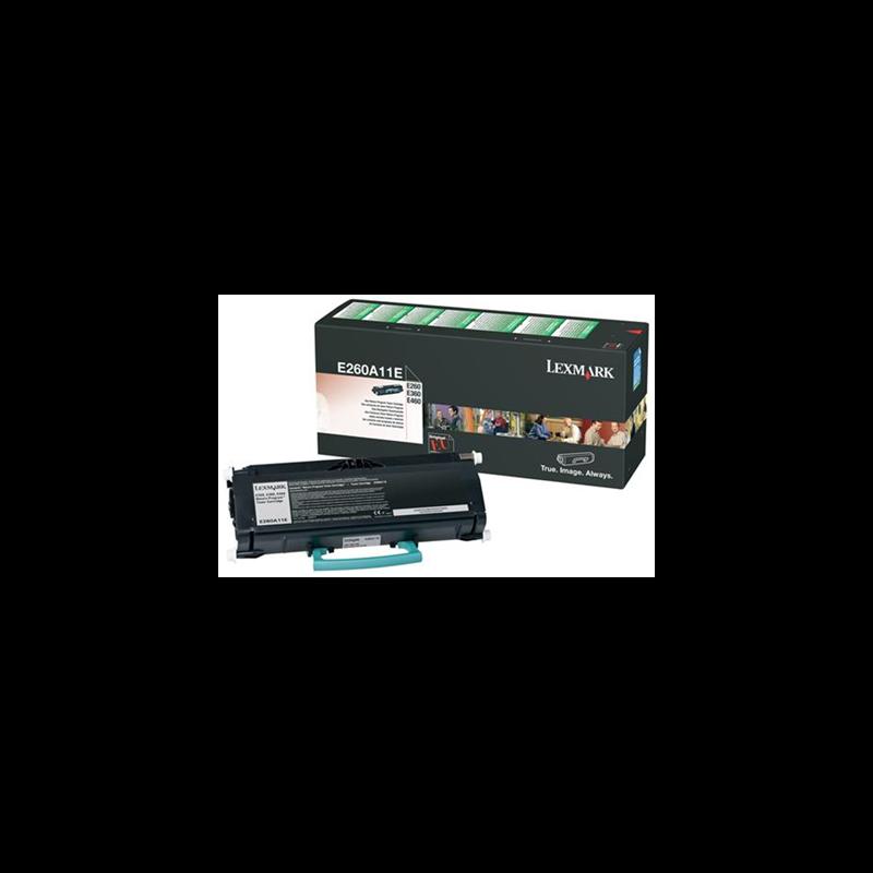 Lexmark E260A11E Black  Laser Toner (3500 σελίδες) E260A11