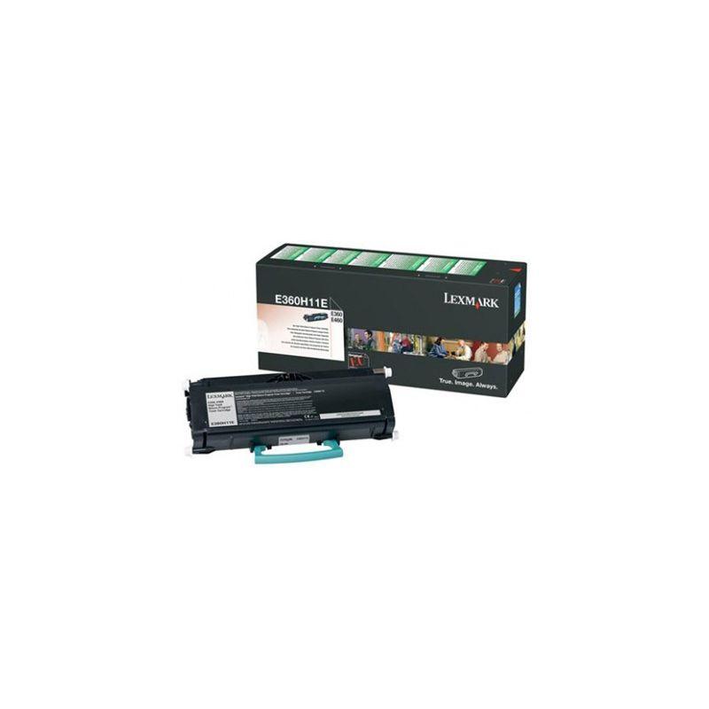 Lexmark E360H11E Black  Laser Toner (9000 σελίδες) E360H11