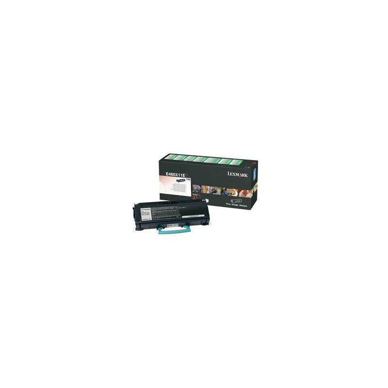 Lexmark E460X11E Black  Laser Toner (15000 σελίδες) E460X11