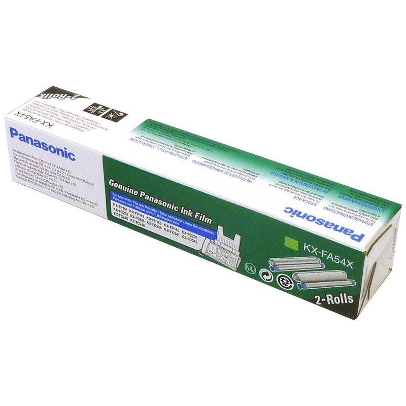 Panasonic KX-FA54X Black  Fax Ribbon KX-FA54X