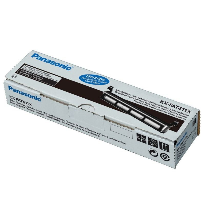 Panasonic KX-FAT411X Black  Laser Toner  KX-FAT411X
